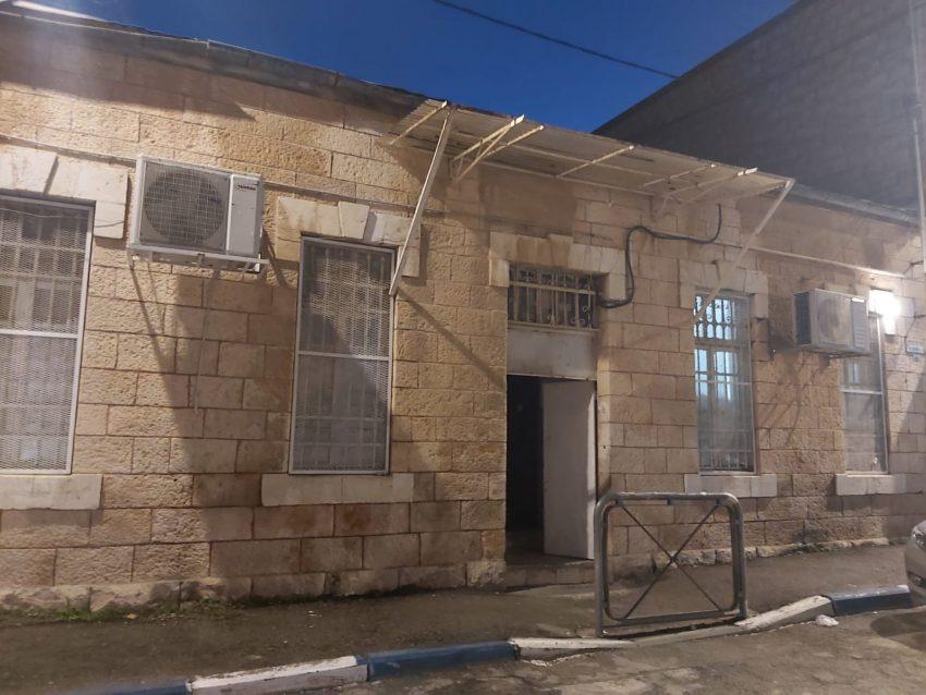 """המבנה שבו פעל """"באר מרים"""" (צילום: שלומי הלר)"""