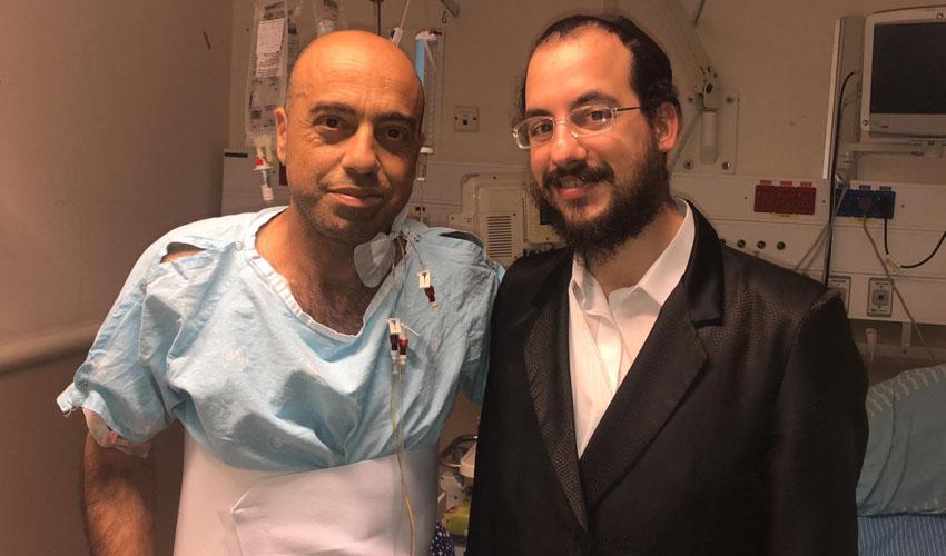 ישראל רוסט ושי לוי - צילום פרטי