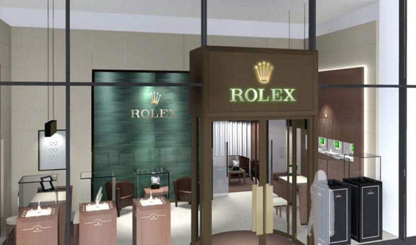 סניף של חנות רולקס