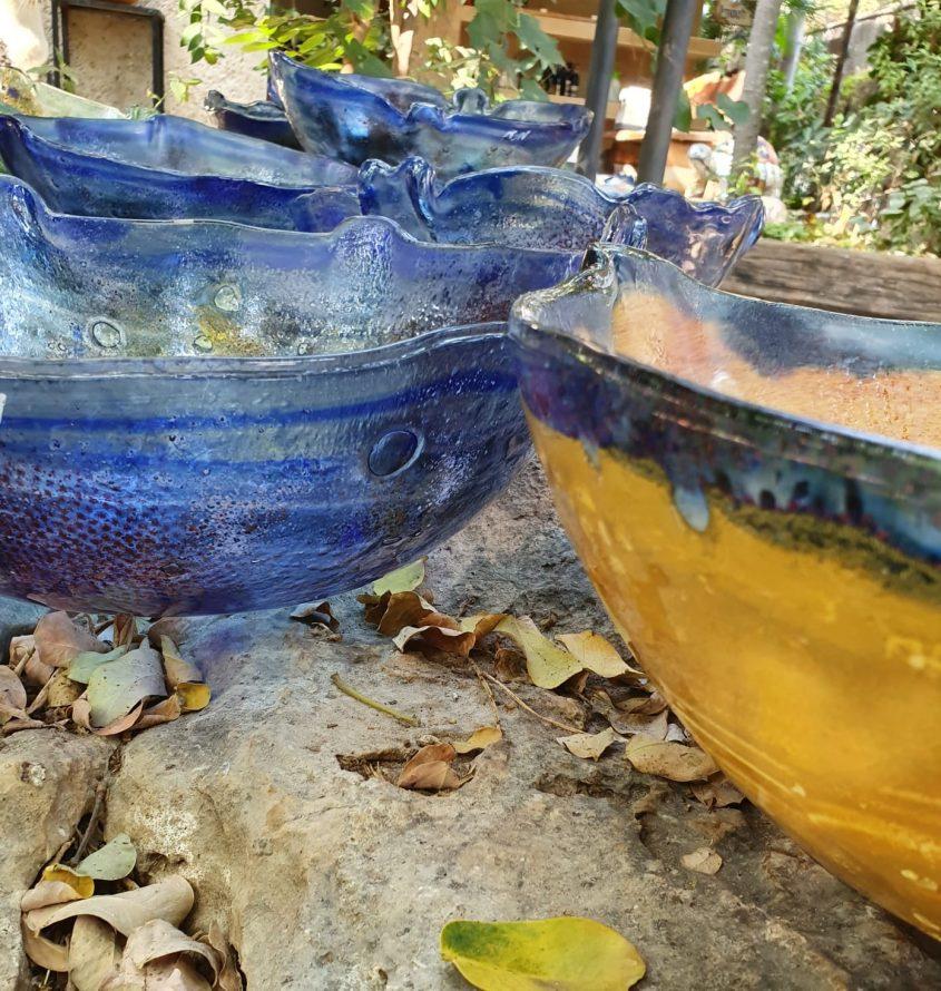 """יצירה של מירב מולכו - תערוכה של נכות צה""""ל (צילום: ארגון נכי צה""""ל)"""