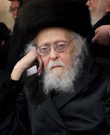 הרב יוסף שלום אלישיב (צילום: דניאל בר-און/באובאו)
