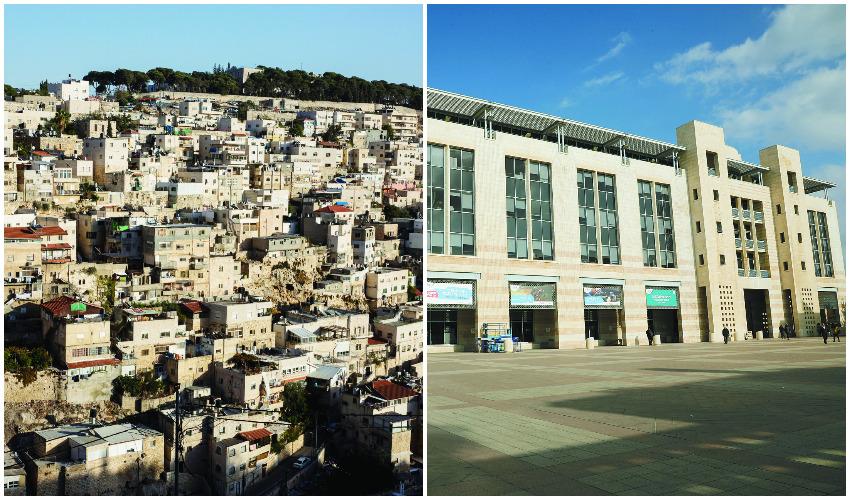 כיכר ספרא, שכונת סילוואן (צילומים: שלומי כהן, אוליבייה פיטוסי)
