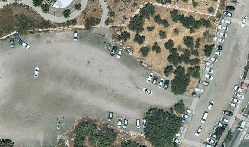 חניון הכורכר בגן הפעמון (צילום: דוברות העירייה)