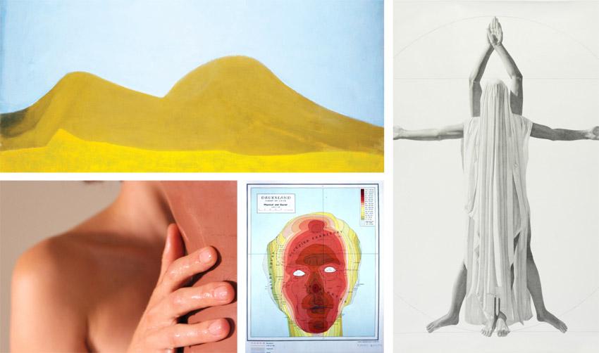 """תערוכה """"נופי גוף"""" (צילומים: באדיבות מוזיאון ישראל)"""