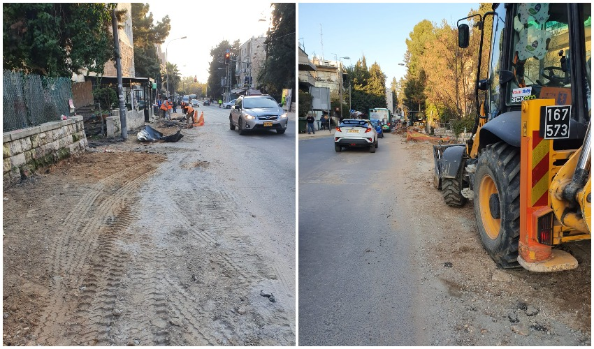 רחוב עזה (צילומים: דוברות התעוררות)