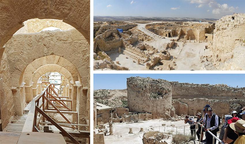 """ההרודיון (צילומים: Eitan Ya'aran, מתוך ויקיפדיה, ד""""ר אדם אקרמן)"""