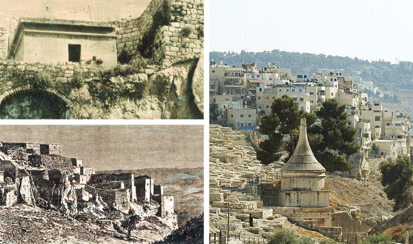 """עיר הקברים שמתחת לכפר סילוואן (צילומים: עזרא קפרי, רפרודוקציה באדיבות ד""""ר אדם אקרמן)"""
