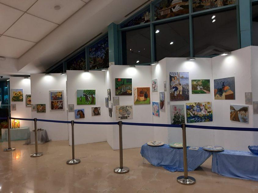 """תערוכה של נכות צה""""ל (צילום: ארגון נכי צה""""ל)"""
