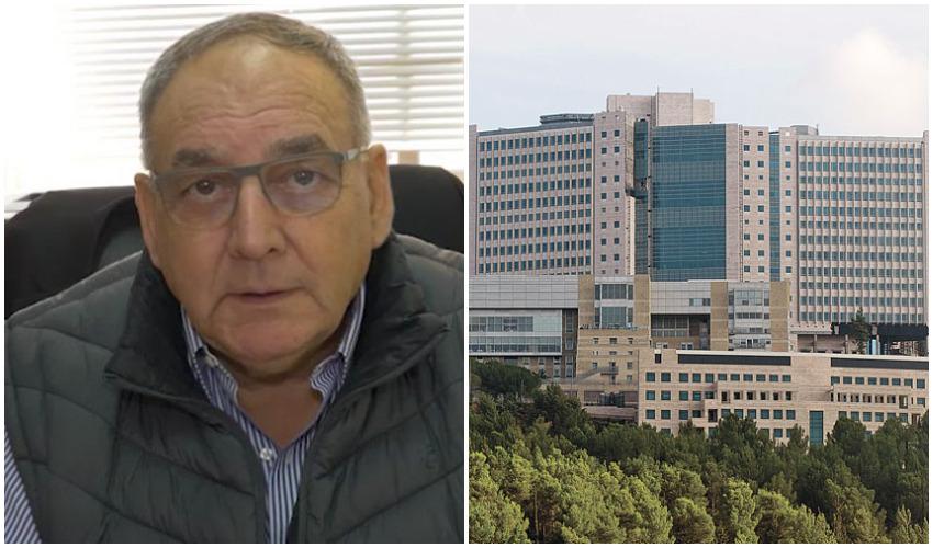 המרכז הרפואי הדסה, פרופ' זאב רוטשטיין (צילומים: אבי חיון, דוברות הדסה)