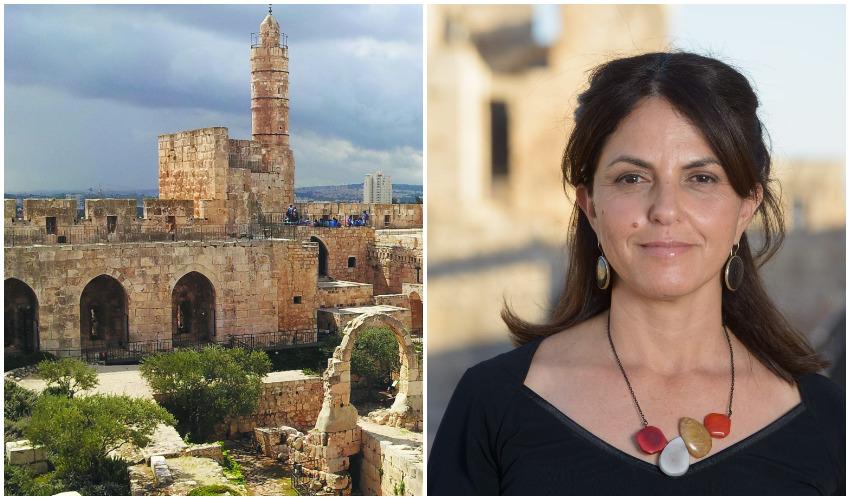 """אילת ליבר, מוזיאון מגדל דוד (צילומים: יח""""צ, חמוטל וכטל)"""