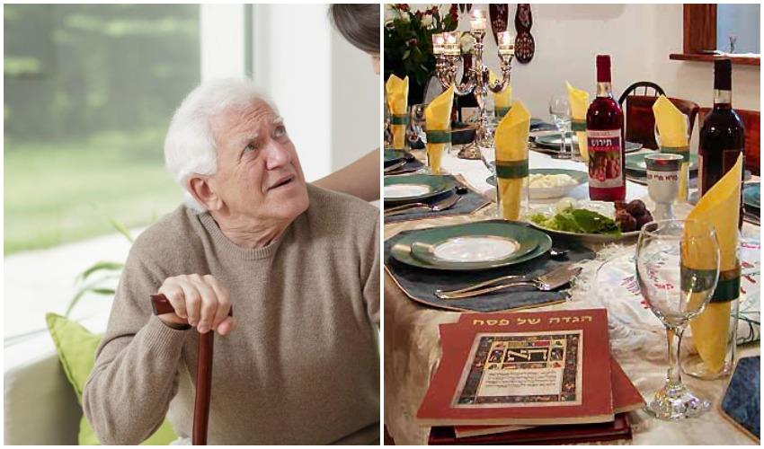 שולחן סדר, אילוסטרציה קשיש (צילומים:Fotolia, datafox)