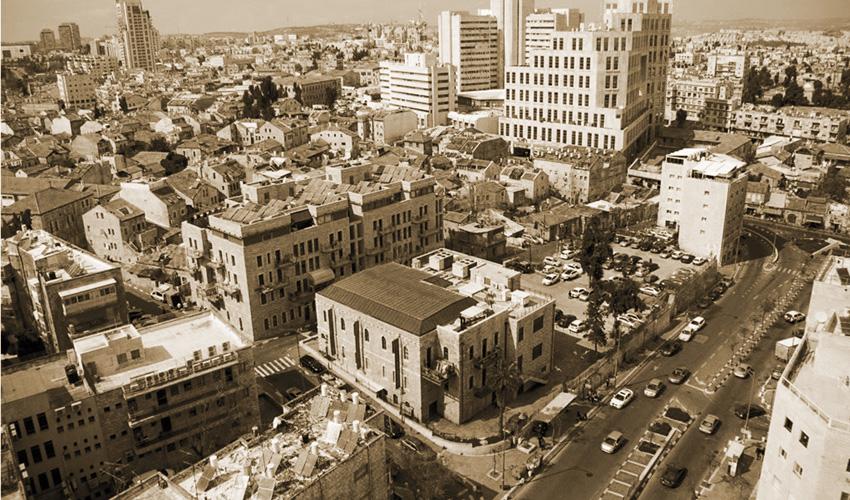 מרכז ירושלים (צילום: סיון גיל)