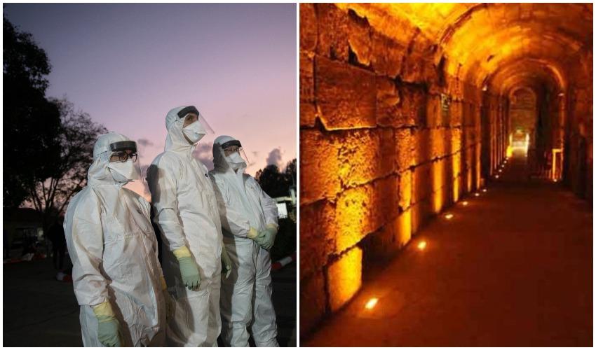התפשטות הקורונה: החולים – תיירים מגרמניה ותושב בית ג'אלה שביקרו באתרי תיירות בירושלים
