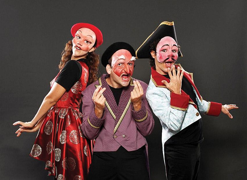 קומדיה דל'ארטה במוזיאון מגדל דוד (צילום: ולדימיר אסקין)