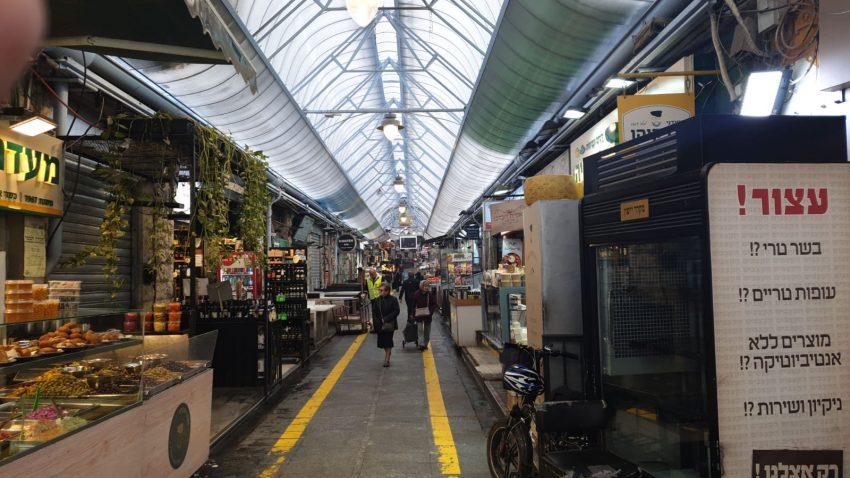 היום, בשוק – תנועת לקוחות דלילה; המסעדות עברו למשלוחים