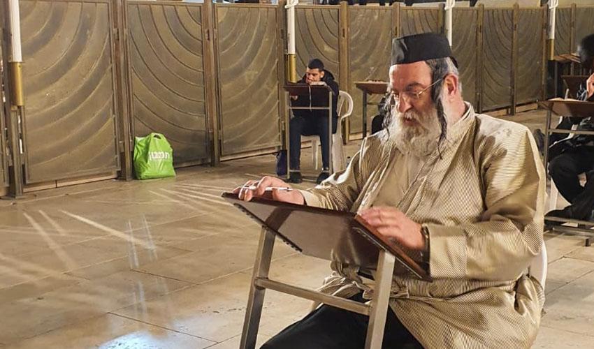 """בן ציון קופרשטוק ז""""ל, החולה ה-46 שנפטר מקורונה בישראל (צילום: יוסי ברגמן)"""