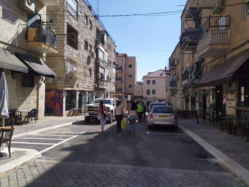 רחוב הערמונים (צילום: שלומי הלר)