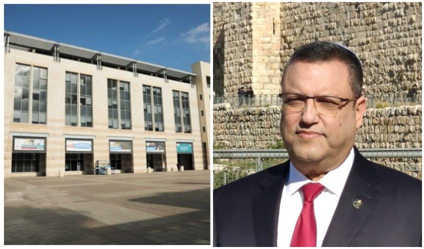 ראש העיר משה ליאון, בניין עיריית ירושלים (צילומים: דוברות עיריית ירושלים, שלומי כהן)