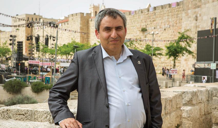 שר ירושלים ומורשת זאב אלקין (צילום: אמיל סלמן)