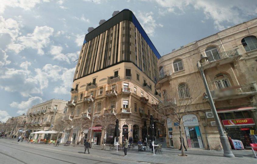 המלון בחבצלת (הדמיה: משרד פייגין אדריכלים)