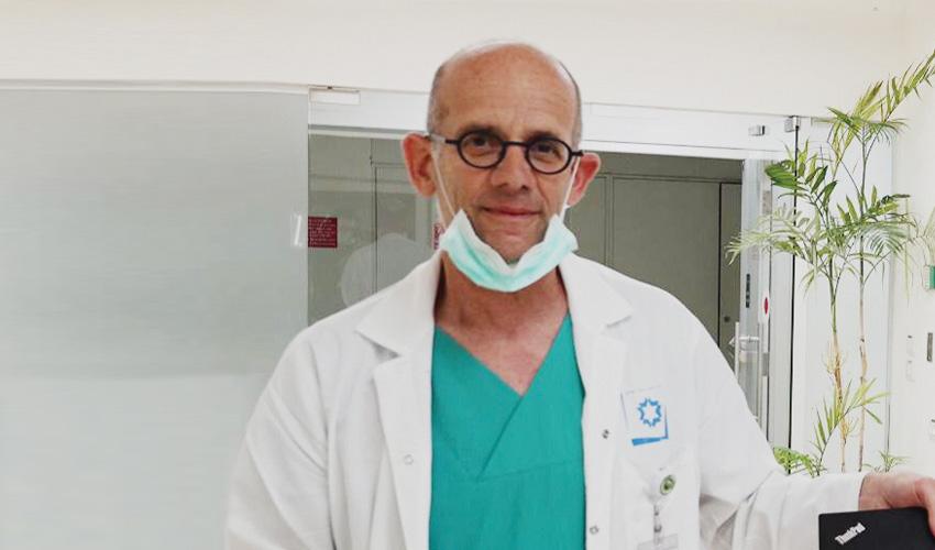 פרופ' עופר מרין (צילום: דוברות שערי צדק)