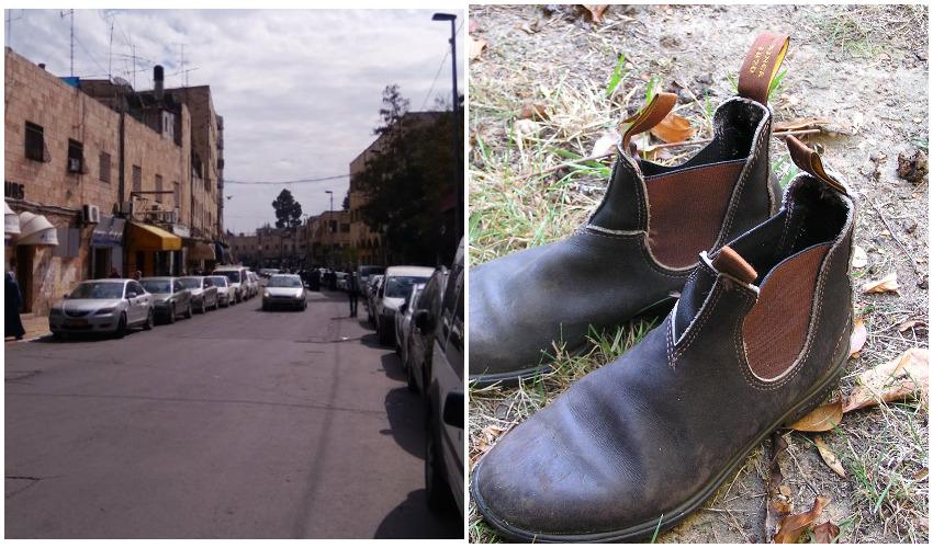 נעלי בלנדסטון, רחוב צלאח א-דין (צילומים: AYArktos-מתוך ויקפדיה, גוגל מפות)