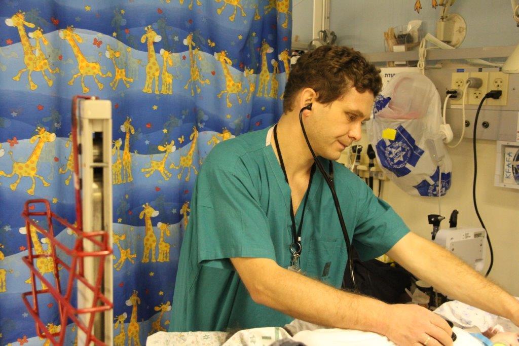 """ד""""ר דויד רכטמן (צילום: דוברות הדסה)"""