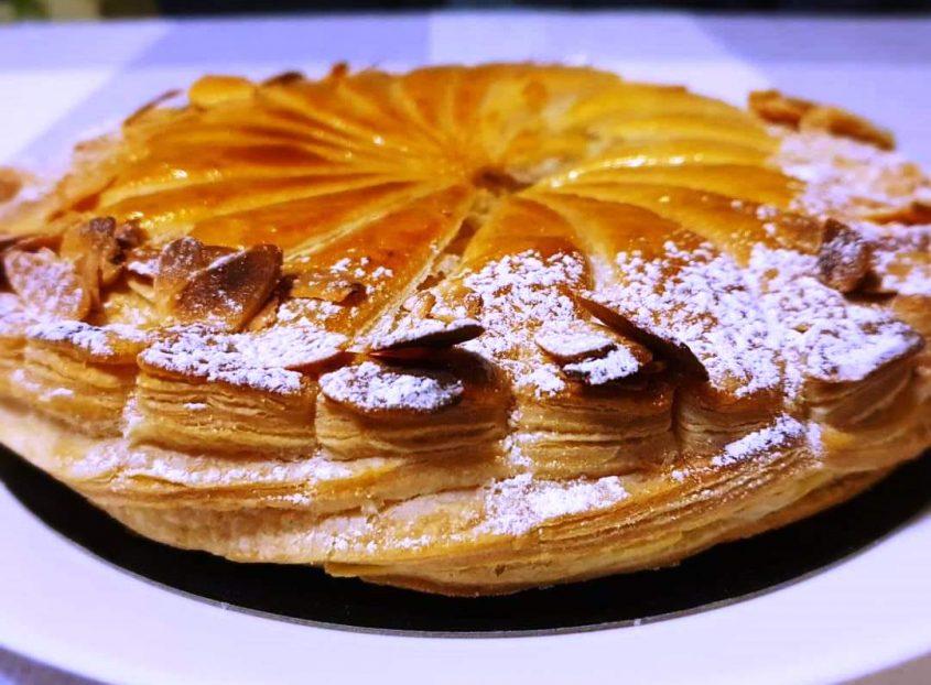 עוגת המלכים הצרפתית (צילום: מארש בייקרי)
