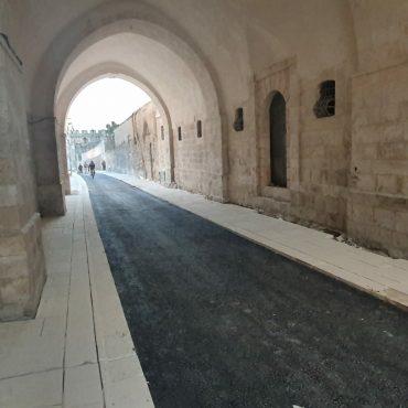 רחוב הפטריארכיה הארמנית המחודש (צילום: באדיבות מוריה)