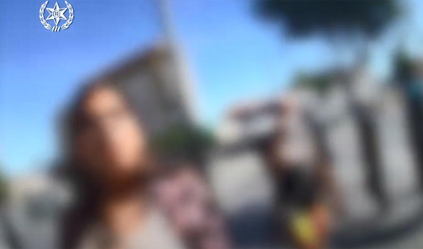 מעצר האישה במרכז העיר בשל אי עטיית מסכה: צפו בגרסת המשטרה לאירוע