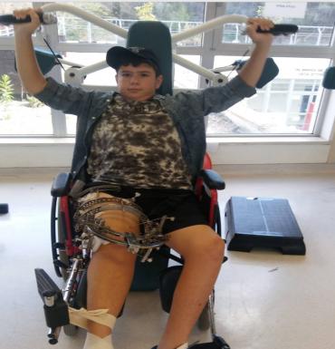 """אלעד פינטו (צילום: דוברות בית החולים אלי""""ן)"""