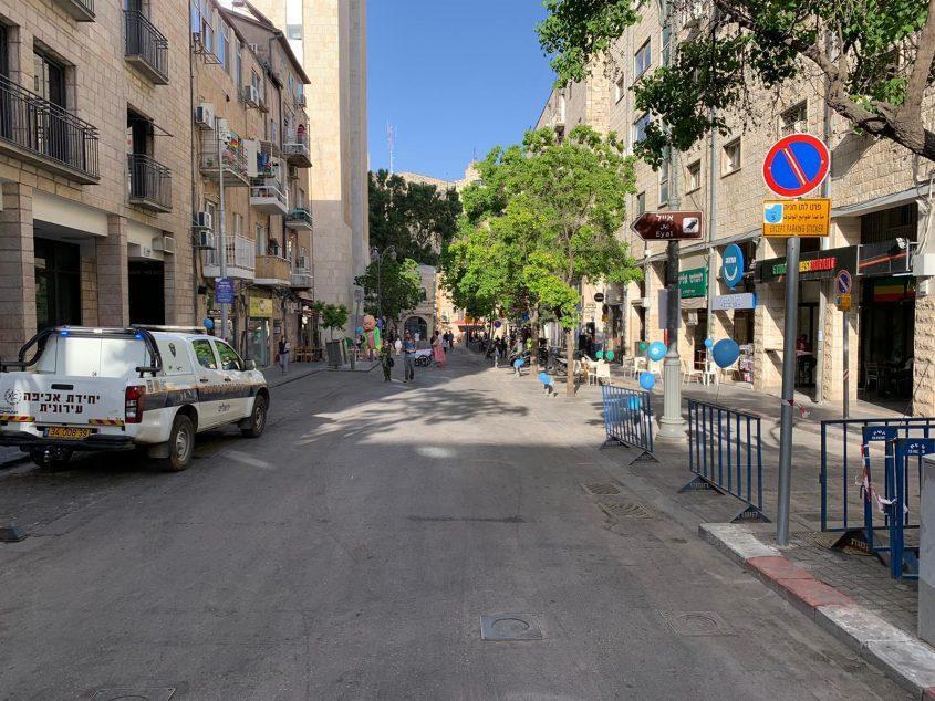 רחוב שמאי, הערב (צילומים: רון ירקוני יחסי ציבור)