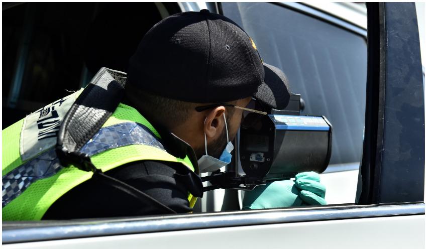 """פעילות האכיפה המשטרתית בסופ""""ש (צילום: דוברות המשטרה)"""
