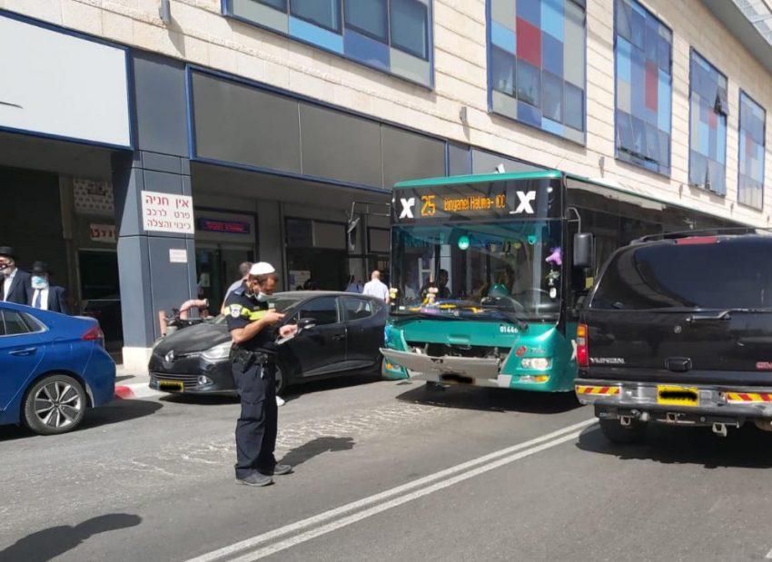 נחלאות: ילד בן 5 נפגע מאוטובוס