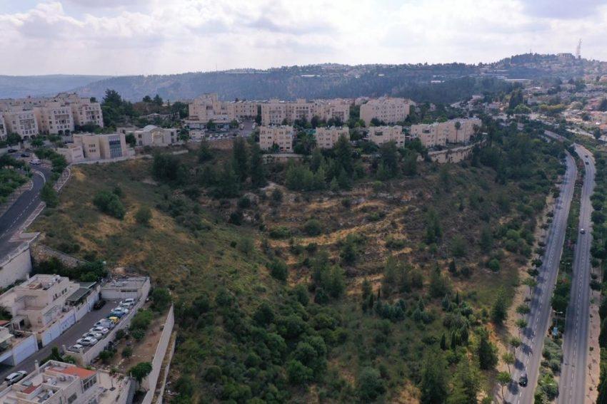 גבעת משואה - השטח שבו מתוכנן להיבנות הפרויקט (צילום: זאב שטיין)