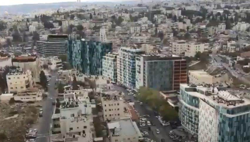 סיליקון ואדי - מתחם הייטק ענק במזרח ירושלים (הדמיה: איקון הפקות)