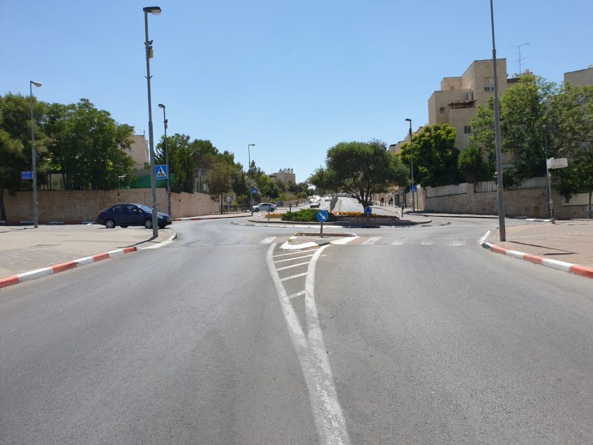 רחוב מאיר גרשון (צילום: שלמה יהושע)