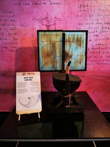 מתוך תערוכת לאונרדו דה וינצ'י 500 - הסטארטאפיסט הראשון (צילום: ליאור שפירא)
