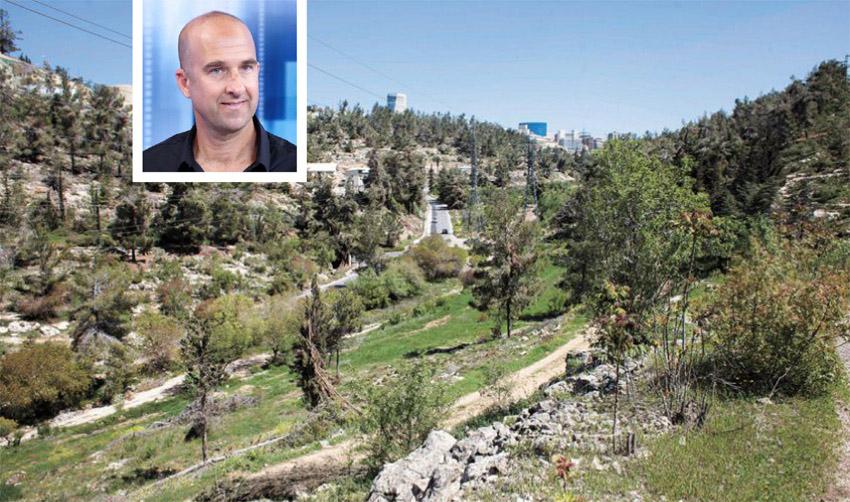 שומרים על יער ירושלים, אבי זיתן (צילומים: אמיל סלמן, בני בכר)