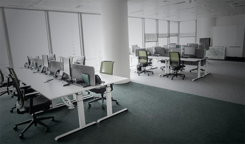 משרדים ריקים (צילום: א.ס.א.פ קריאייטיב INGIMAGE)