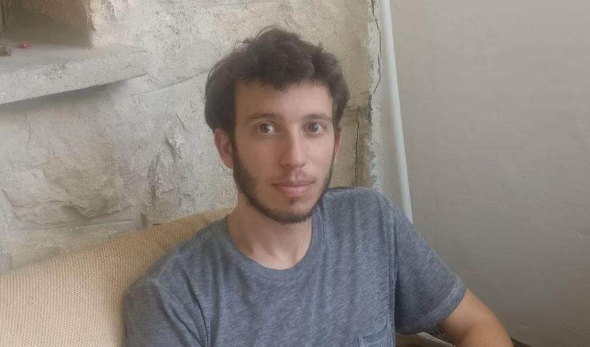 יואב הר-אבן, סטודנט ללא עבודה בגלל הקורונה (צילום: אישי)