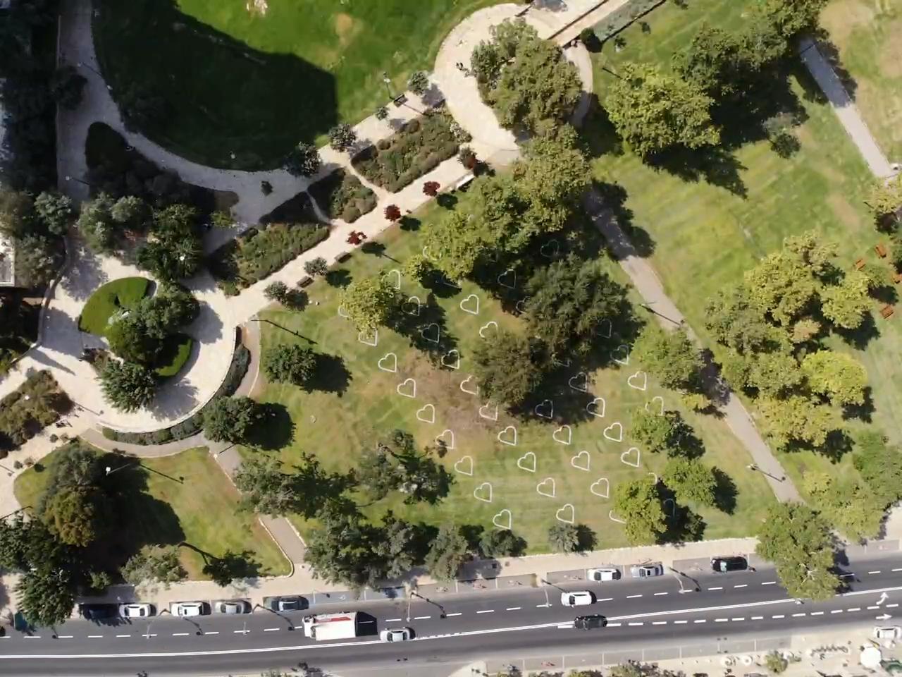 גן העצמאות - פארק הלבבות החדש (צילום: עיריית ירושלים)