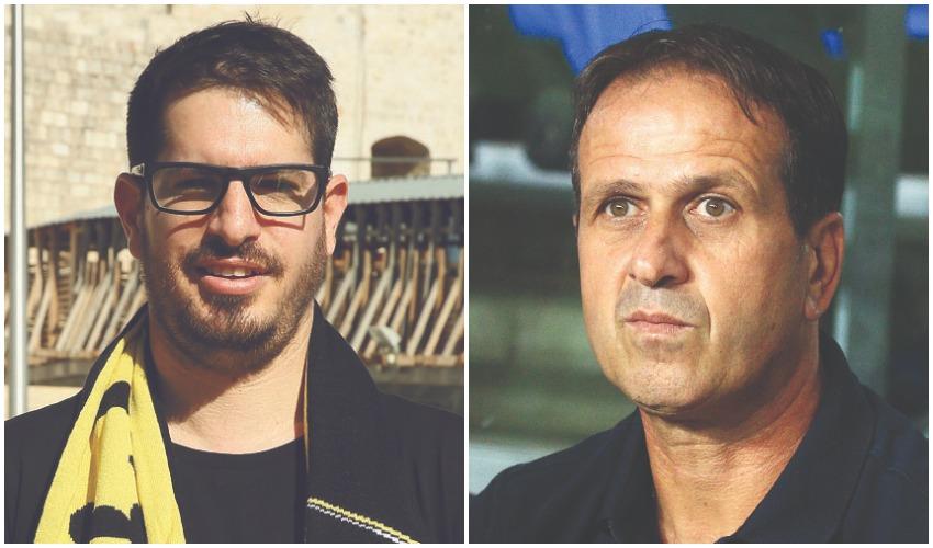 רוני לוי, משה חוגג (צילומים: שרון בוקוב, ארנון בוסאני