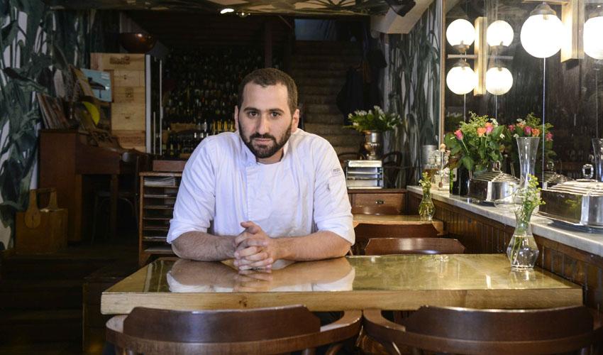 שף ניר לוי (צילום: malte jaeger)