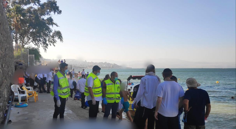 טרגדיה הערב בכנרת: צעיר מירושלים טבע למוות