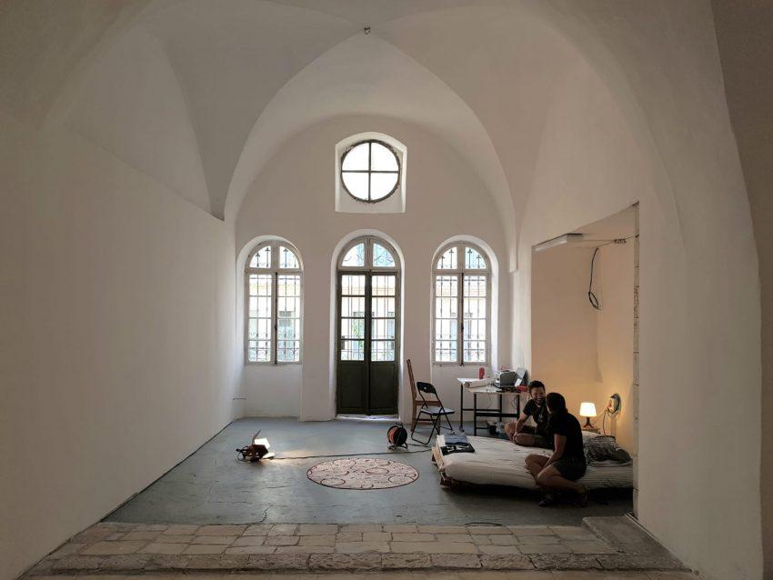 גלריה ברבור במשכנה החדש (צילום: אברהם קריצמן)