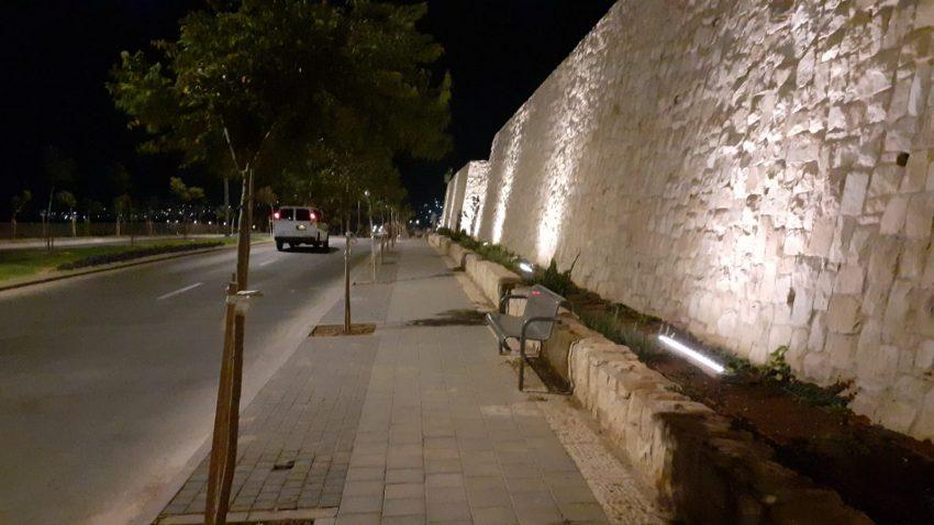 ציר חדש בהר חומה (צילום: דוברות העירייה)