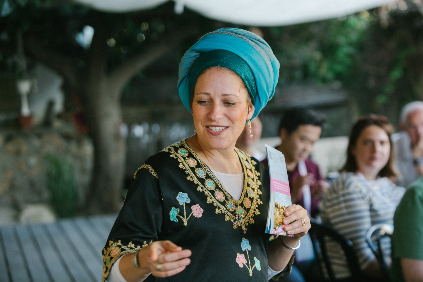 אפרת חלמיש, חן המקום בעיר דוד (צילום: אביתר ניסן)