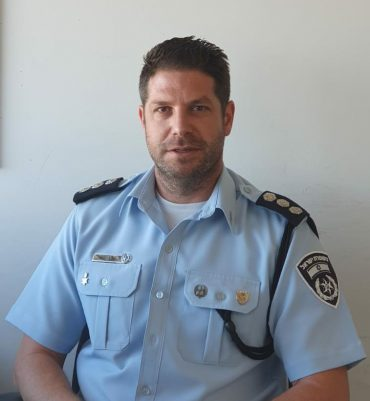 פקד אורן משה, ראש יחידת חקירות לפשעים מיוחדים, מרחב ציון (צילום: דוברות המשטרה)