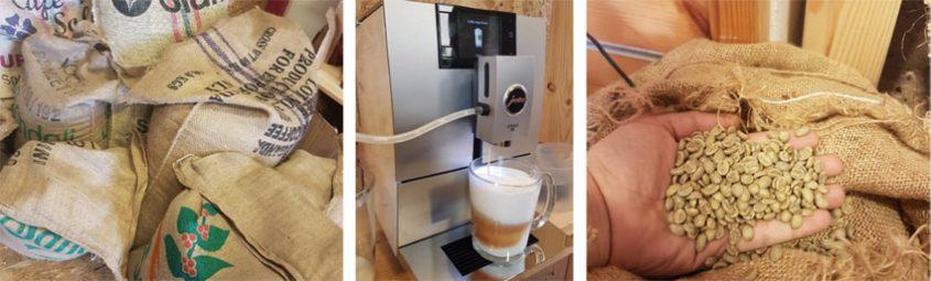 קופי-צ`ינו קליית קפה במקום (צילום: פרטי)